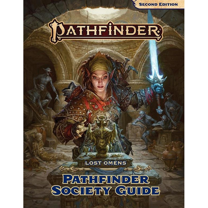 Pathfinder 2E Lost Omens Society Guide HC (RPG)