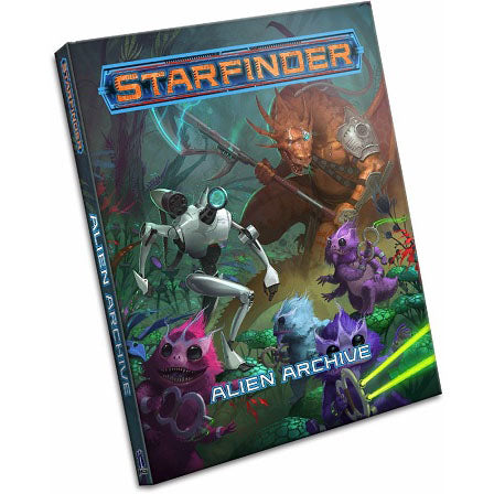 Starfinder RPG - Alien Archive (Hard Cover)