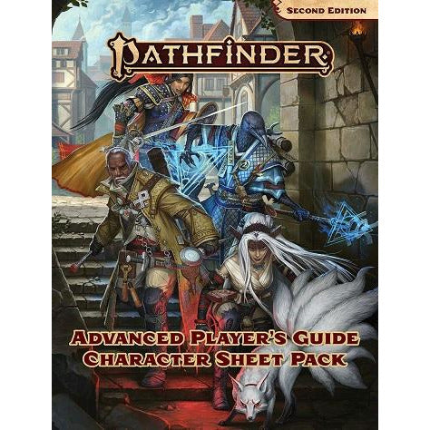 Pathfinder  2E: Advanced Players Guide Character Sheet Pk (RPG)