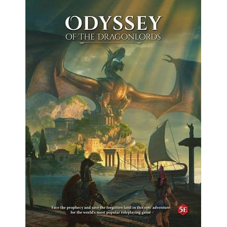 Odyssey Of The Dragonlords RPG HC (RPG)