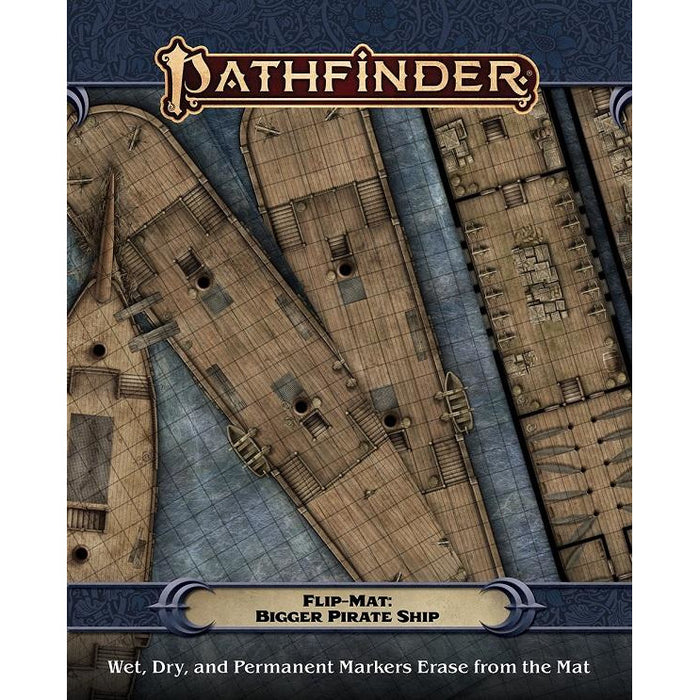 Pathfinder  Flip-Mat: Bigger Pirate Ship (RPG)