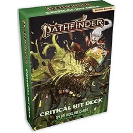Pathfinder  2E Cards: Critical Hit Deck (RPG)