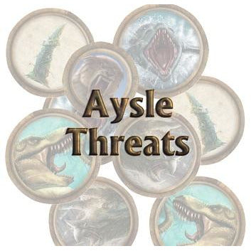 Torg Eternity: Aysle Threats (RPG)