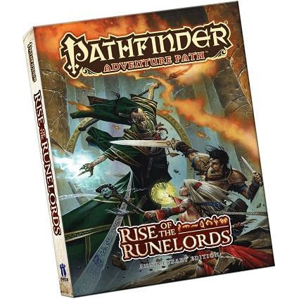 Pathfinder  Rise Of The Runelords Ann. Ed Pocket Edition (RPG)