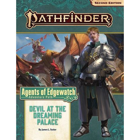 Pathfinder 157 Agents Of Edgewatch 1: Devil Dreaming Palace (RPG)