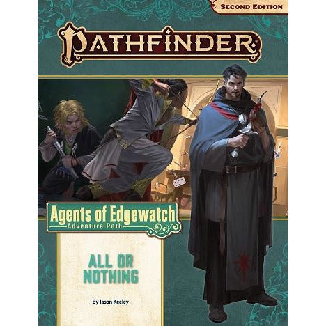Pathfinder 159 Agents Of Edgewatch 3: All Or Nothing (RPG)