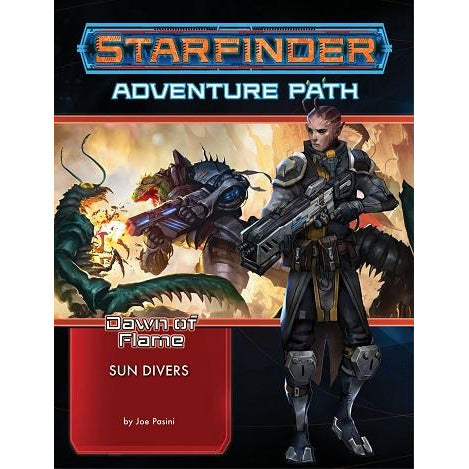 Starfinder 15 Dawn Of Flame 3: Sun Divers (RPG)