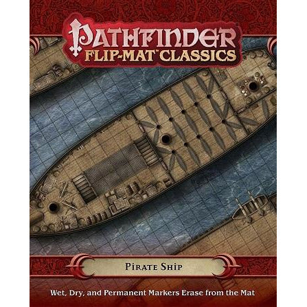 Pathfinder  Flip-Mat Classics: Pirate Ship (RPG)