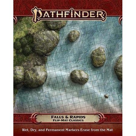 Pathfinder  Flip-Mat Classics: Falls And Rapids (RPG)