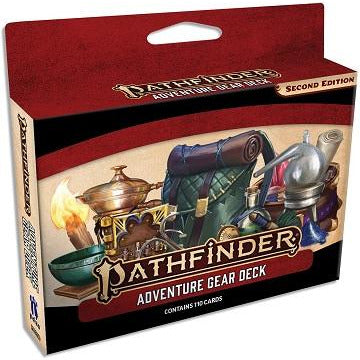 Pathfinder  2E Cards: Adventure Gear Deck (RPG)