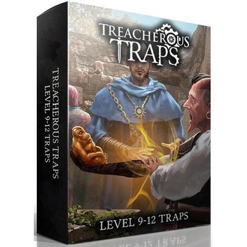 Treacherous Traps Deck: Level 9-12 (RPG)