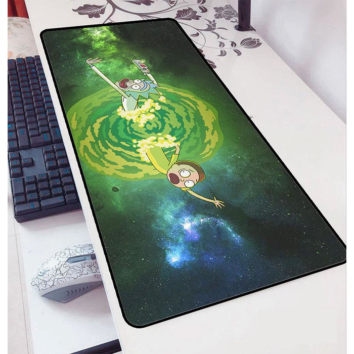 "Rick and Morty - Gaming Mouse Pad (12"" x 27"")"