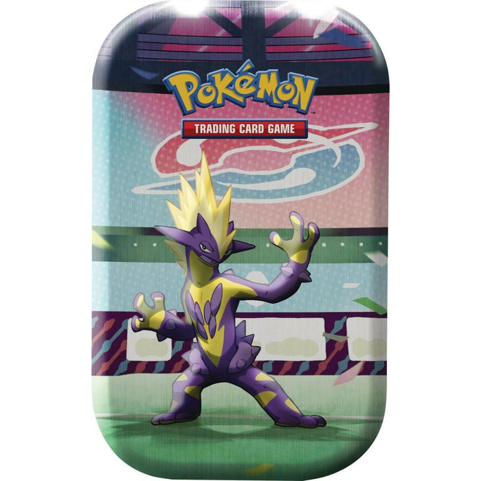 Pokemon Galar Power Mini Tin Toxtricity Themed Factory Sealed With 2 Boosters