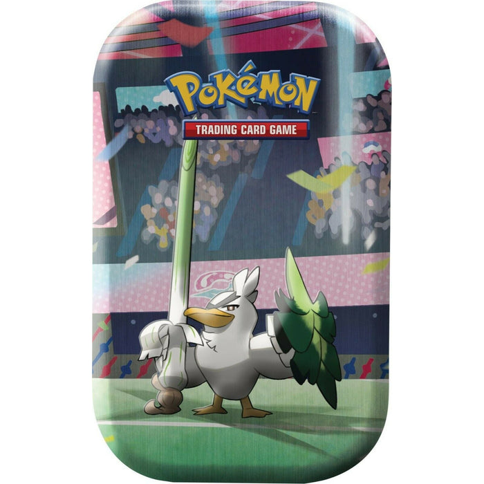 Pokemon Galar Power Mini Tin Sirfetch'd Themed Factory Sealed With 2 Boosters
