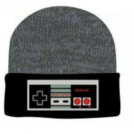 Nintendo Controller NES - Winter Beanie Knit Hat - Tuque Toque - FREE SHIPPING !