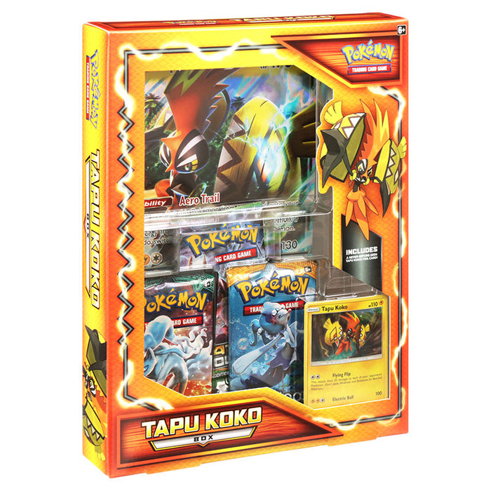 Pokemon - Tapu Koko Box (International Version)