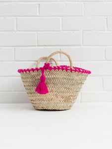 Mini Tassel Bag - Fushia