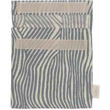 Load image into Gallery viewer, Reusable Sandwich Bag, Ocean Wave Stripe