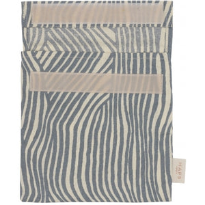 Reusable Sandwich Bag, Ocean Wave Stripe