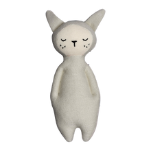 Load image into Gallery viewer, Bunny Rattle - Light Grey