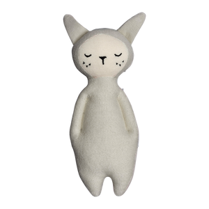 Bunny Rattle - Light Grey