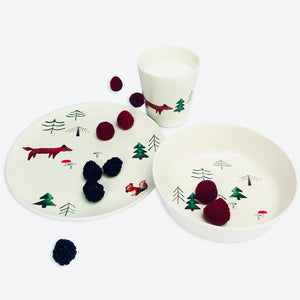 Bamboo Dinnerware Set - Forest