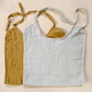 Long Bibs, Warm Solid