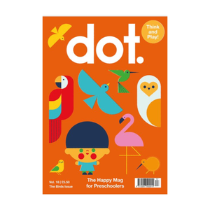 Dot Kids Magazine - The BIRDS Edition
