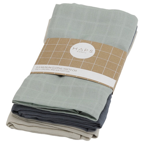 Muslin Cloths, Cold Solid