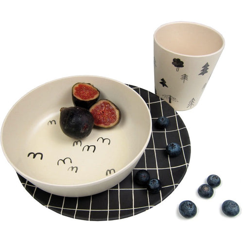 Bamboo Dinnerware Set - Great Outdoors