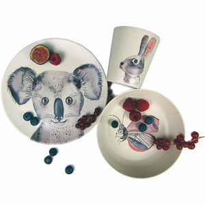 Bamboo Dinnerware Set - Animals