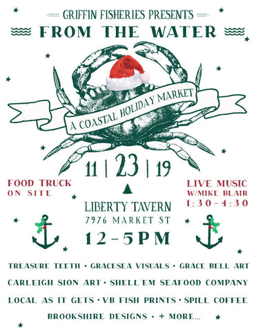 From the Water: A Coastal Holiday Market