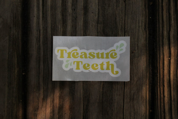 Treasure Teeth Logo Stickers