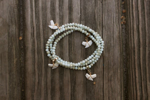 Tiger Wrap Bracelet-Opal Green
