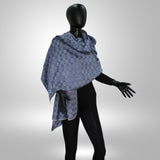 THROW SCARF/ Silk Shawl