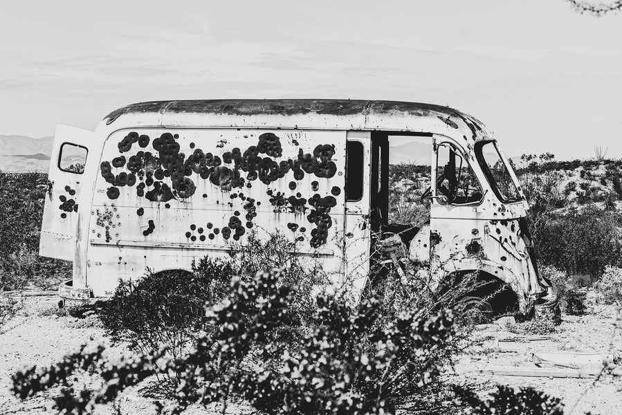 Marfa Desert Photo Series