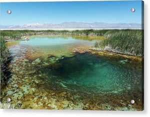Black Rock Hot Spring - Acrylic Print