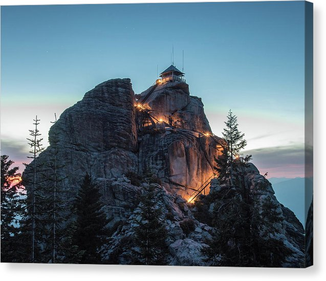 Buck Rock Fire Lookout - Canvas Print