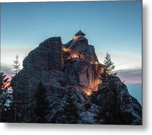 Buck Rock Fire Lookout - Metal Print