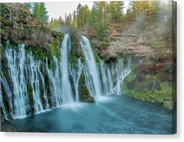Burney Falls - Canvas Print