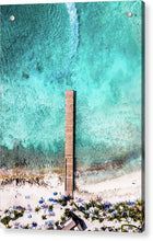 Load image into Gallery viewer, Caribbean Wake - Acrylic Print