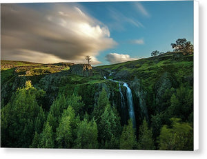 Coal Falls - Canvas Print