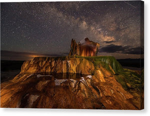 Fly Geyser - Canvas Print