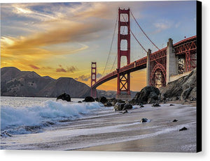 Baker Beach - Canvas Print
