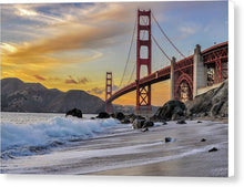 Load image into Gallery viewer, Baker Beach - Canvas Print