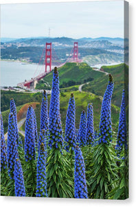 Golden Gate Pride - Canvas Print