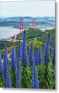Golden Gate Pride - Metal Print