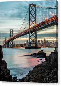 Golden State - Canvas Print