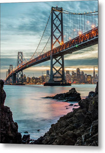 Golden State - Metal Print
