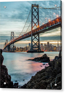 Golden State - Acrylic Print
